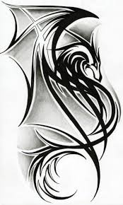 best 25 tribal dragon tattoos ideas on pinterest dragon tattoo