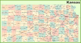 Montana Map Cities by Road Map Of Kansas With Cities