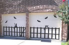 57 homemade halloween decorations garage door make your own