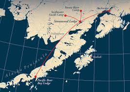 Kodiak Alaska Map by Alaska Wolf Hunts Cavner And Julian