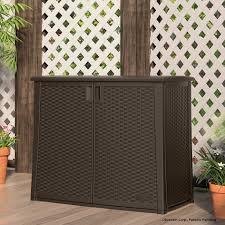 Plastic Outdoor Storage Cabinet Wooden Garden Storage Garden Tool Shed Backyard Storage Sheds