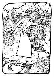 mary poppins coloring pages fabulous coloring pages for ancient