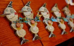 my handmade ornaments galore