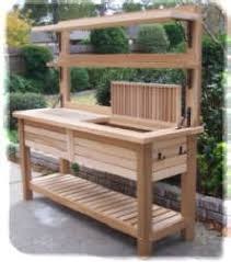 Garden Potting Bench Ideas Awesome Potting Bench Plans Bench Plans Bench And Pallets