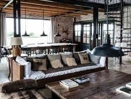 canap style industriel mille et une idées pour le salon style industriel en 44 photos
