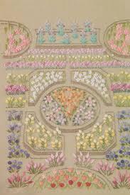 ribbon embroidery flower garden pdf pattern tutorial of my garden hand no 14 embroidery stitch