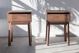 Modern House Furniture Hand Crafted Modern Night Stand By Hedge House Furniture