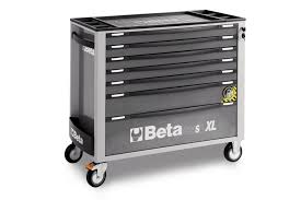 Rolling Tool Cabinets Beta Tools C24sa Xl 7 Mobile Roller Tool Cabinet In Tool Carts