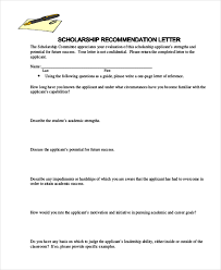 writing a letter of recommendation example