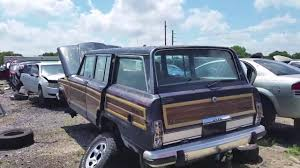 jeep kaiser wagoneer 1989 jeep grand wagoneer in the lkq junkyard west palm beach fl