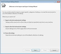 visual studio reset application settings microsoft visual studio 2017 debugger
