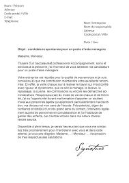 lettre de motivation aide cuisine lettre de motivation aide ménagère modèle de lettre
