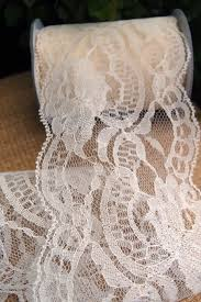 wide lace ribbon lace ribbon 4 wide x 10 yards