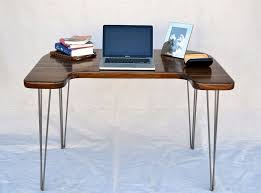 small modern computer desk furniture minimalist computer desk with wooden table top and metal