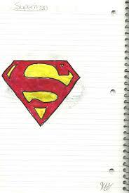 superman emblem drawing wallskid