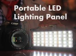 Led Photography Lights Diy Portable Led Lighting Panel 8 Steps With Pictures