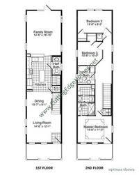 upper floor plan for f 540 townhouse plans 4 plex house plans 3