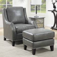 ottoman and accent chair gray accent chair finelymade furniture with regard to gray chair