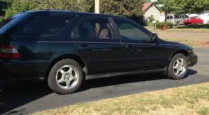 honda accord wagon 1994 1994 honda accord ex vtec 2 2 green wagon 5 door for sale photos