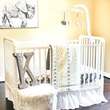 Zanzibar Crib Bedding Decoration 6 Crib Bedding Set Brown Cowhide Kidsline