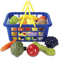fruit and vegetable baskets casdon fruit and veg basket toys