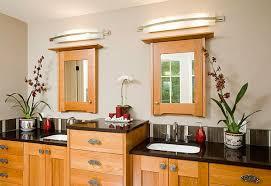 Bathroom Vanity Mirror Lights Lighting Ideas Above Bathroom Vanity Mirror Lights From Wall