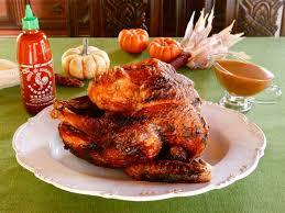 fried sriracha turkey and sriracha gravy