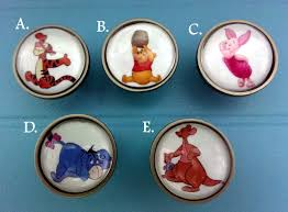 Bedroom Dresser Knobs And Handles Winnie The Pooh Knobs Bedroom Dresser Knobs Glass Nursery