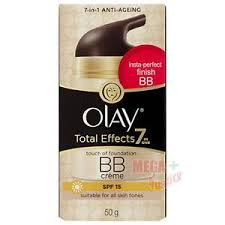 Olay Bb olay total effects tinted day bb touch of foundation for all