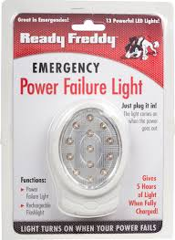 emergency lights when power goes out ready freddy emergency power failure light additional products