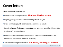 cover letter to magazine submission prothesis covers