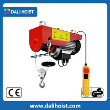 lowest price small lift crane electric hoist crane mini crane for