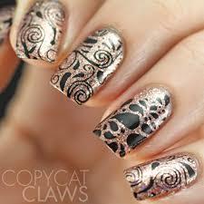 swirls u0026 twirls dp03 stamping plate swirl nail art and