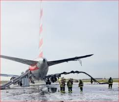 the engine took out a 767 aa flight 383 photos