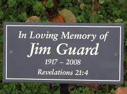 memorial plaques personalised slate memorial plaque by signs