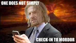 Mordor Meme - best of the walk into mordor meme smosh