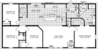 Master Suite Floor Plan Four Bedroom Mobile Homes L 4 Bedroom Floor Plans