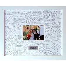 large wedding guest book personalised wedding guest book frame large contemporary
