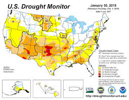 california drought map january 2016 current map