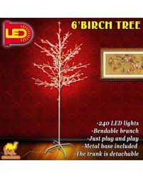 check out these bargains on strong camel 6ft birch light tree 240