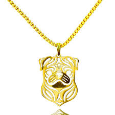 free gold necklace images 50 off and free shipping pug necklace fashion pendant and jpg