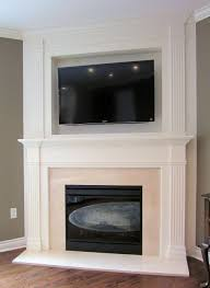 decorations faux fireplace mantel luxury simple living room