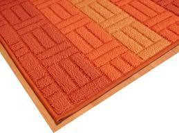 tappeti per cucine tappeti stuoia cucina arancione