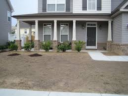 landscape low maintenance ideas for front of house breakfast