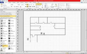 Design A Floor Plan Template by Create A Fire Escape Plan In Visio 2010 Youtube