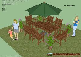 Free Wood Patio Table Plans by Home Garden Plans Gt100 Garden Teak Tables Woodworking Plans