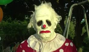 clown rentals for birthday truly terrifying clown available for hire to scare your children