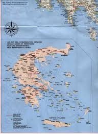Greece On A Map by Map Of Greece
