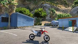 buy motocross bikes grand theft auto 5 honda crf450 dirtbike mod gta 5 youtube