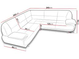 dimension canap angle dimensions canap d angle stunning canape d angle convertible places